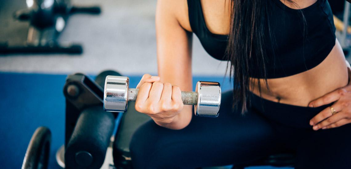 Auxilia na manutenção da massa muscular